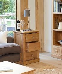 baumhaus mobel solid oak extra. Baumhaus Mobel Solid Oak 3 Drawer Lamp Table . Extra