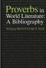 international bibliography of explanatory essays on individual  proverbs in world literature