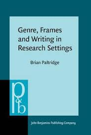 Genre Frames And Writing In Research Settings Brian