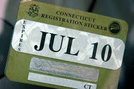 1 motor vehicle registration stickers in the state will no longer be