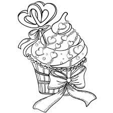 Cupcakes Kleurplaten Leuk Voor Kids