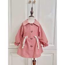 Áo khoác cho bé gái từ 1 - 8 tuổi, Áo dạ thời trang trẻ em hàng thiết kế  cao cấp VNXK cho bé từ 6- 32 kg tại Hà Nội