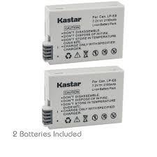 Lc-e8c Battery Lc-e8e Charger for <b>Canon Lp-e8</b> Battery EOS 550d ...