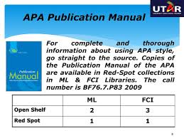 Ppt Apa Style Guide 6 Th Edition Powerpoint Presentation Id6022901