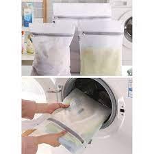 Ince örgü çamaşır torbaları çamaşır makineleri fermuarlı çamaşır çanta –  Grandado.com TUR
