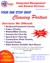 imags the service you can trust we can offer a lot of general cleaning services that will meet your needs see below the list of services that we offer