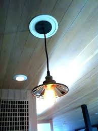 recessed lighting to pendant. Can Light To Pendant Conversion Cveri Receed Instant Recessed Kit Lighting