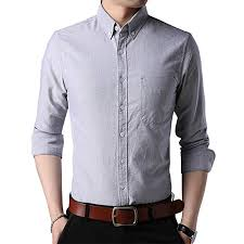 Oxford Shirt Size Chart Womleys Mens Casual Long Sleeve Regular Fit Oxford Shirt