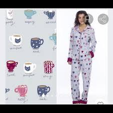 Munki Munki Flannel Pajamas Xl Nwt