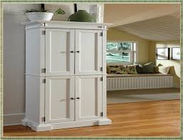 Bathroom Pantry Cabinet White Wood Cabinet Tall Pantry Storage Kitchen Bathroom Laundry In