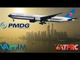 China Southern Pmdg 777 300er On Vatsim Fsx Zsss Zggg