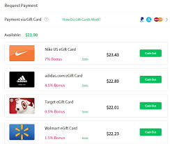 Check spelling or type a new query. Why You Should Cash Out With Gift Cards
