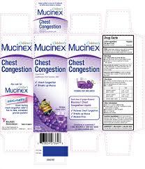 childrens mucinex chest congestion