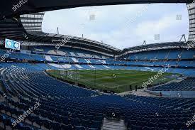General view Etihad Stadium Redaktionelles Stockfoto – Stockbild