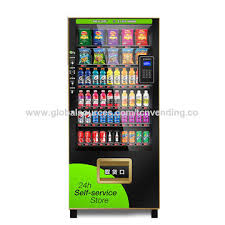 Self Service Vending Machines Gorgeous China TCN Popular New Mobile Pay Convenience Store Snack Drink Self