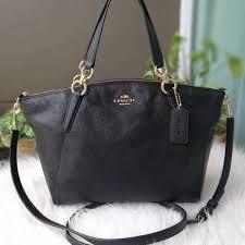 presyo ng coach f36675 small kelsey satchel in pebble leather black sa pilipinas