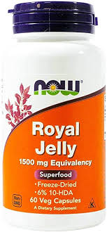 Now Foods, Royal Jelly 1500mg, 60 Capsules: Health ... - Amazon.com