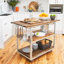 Small Picture HOME DZINE Kitchen DIY mobile kitchen island or workstation