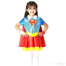 superhero costumes for toddler girl girls s suit cosplay clothing anime costume tutu party dresses from