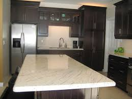 White Spring Granite Kitchen White Spring Granite As Interior Material For Futuristic Kitchen