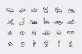 無料素材食べ物飲み物のフリーアイコンまとめ飲食食材デザート
