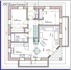750 Sq Ft Apartment Floor Plan 750 Square Foot House Plans