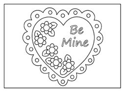 Small Picture Valentine Coloring Pages Activities Printable Puzzles