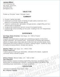 Resume For Personal Trainer Igniteresumes Com