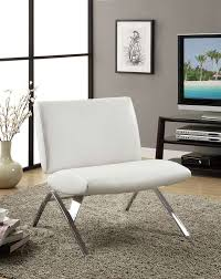 furniture best white laminated modern chair style with stainless steel base chair also fluffy modern carpet added grey wall near black tv stand cabinet