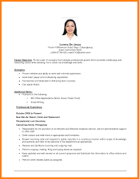 9 Resume Objective Statement Examples Men Weight Chart