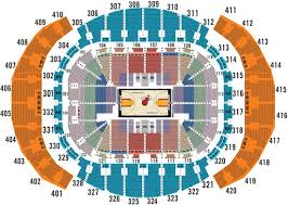 Miami Heat Interactive Seating Chart Ageless American Airlines Arena Seat Chart Nba Seating