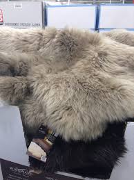 sheepskin rug costco rugs carpet top your residence inspiration decorating ideas 5