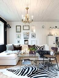 dalmatian print rug a zebra print rug for a chic glam living room