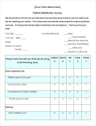 Customer Survey Template   Ophion.co