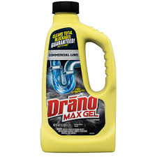drano commercial line 42 fl oz max gel clog remover