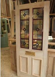 four panel stained glass front door