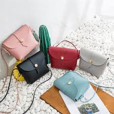 fashion candy color all match bucket bag small pu leather one shoulder cross women s handbag female small phone bag leather purse womens purses from