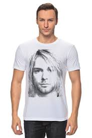 Толстовки, кружки, чехлы, футболки с принтом kurt donald <b>cobain</b> ...