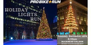 Christmas Lights In Pittsburgh Pa 6th Annual Holiday Lights Run With Pro Bike Run Pro Bike Run