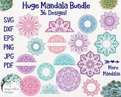 Learn how to make a layered mandala with cardstock. Pin By Betina Garcia On Silhouette Design In 2020 Free Svg Mandala Mandala Svg