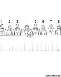 Wedding Seating Chart Etiquette Curious On How The Wedding Party Should Sit At A Head Table