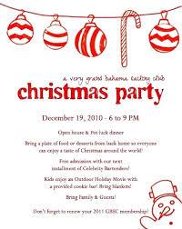 Company Christmas Invitations Template Mediaschool Info
