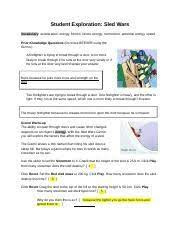 If you need any explorelearning gizmo answer keys, go to academichub. Sled Wars Gizmo Answers 2 Answer Key Download Student Exploration Juli Dimatteo