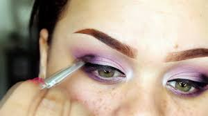 pink purple eye makeup feat socialeyes lashes delight video dailymotion