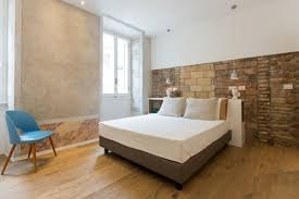 bedroom stone colour bedroom furniture clay statue cow light blue wall paint color square brown