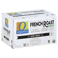 Extra dark roast delivers the richest, most smoky flavor from our coffee roaster. O Organics Organic Coffee Single Serve Cups Dark Roast French Roast Decaf 12 0 38 Oz Albertsons