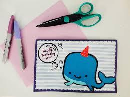 Birthday cards made by kids ~ Birthday cards made by kids ~ Diy kids birthday card etame mibawa
