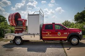 its kind for the department a truck mounted large scale mobile ventilation unit coined the smoke buster austin s acquisition of the ventilator was