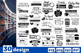 Freesvg.org offers free vector images in svg format with creative commons 0 license (public domain). 30 Designs Teacher Quotes Graphic By Svgocean Creative Fabrica