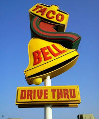 taco bell sign. Wonderful Sign Original Taco Bell Signmy Personal Favorite Fast Food As A Childtaco  And Bean Burritoall Items On The Menu Were 19 With Sign T